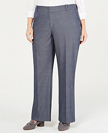 Charter Club Plus Size Trouser Pants, Created for Macy's