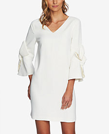 CeCe Bow-Embellished Shift Dress