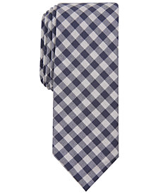 Original Penguin Men's Sertich Skinny Check Tie