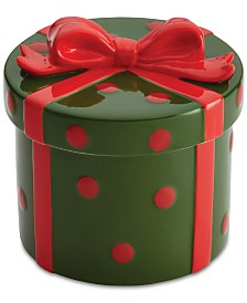 Cake Boss Stoneware Gift Cookie Jar