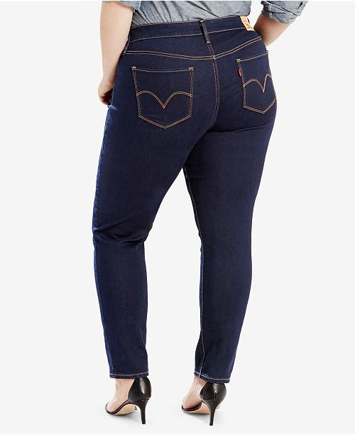 acf40bf1ee9 Levi s Plus Size 311 Shaping Skinny Jeans   Reviews - Jeans - Plus ...