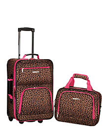 Rockland 2-Piece Luggage Set