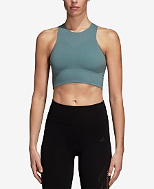 adidas Warpknit ClimaCool® Cropped Tank Top
