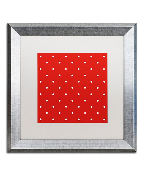 """Trademark Global Color Bakery 'Aria Iii' Matted Framed Art, 16"""" x 16"""""""