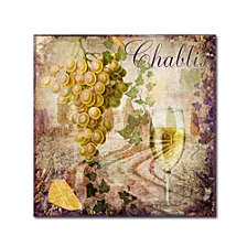 Color Bakery 'Wine Country V' Canvas Art