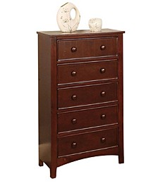 Transitional Style Wooden Chest