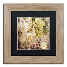 "Color Bakery 'Wine Country I' Matted Framed Art, 11"" x 11"""