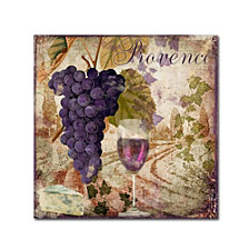 Color Bakery 'Wine Country Iii' Canvas Art