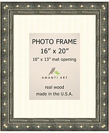 "Amanti Art Barcelona Champagne 16"" X 20"" Matted 10"" X 13"" opening Wall Photo Frame"