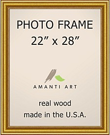 """Townhouse Gold 22"""" X 28"""" Opening Wall Picture Photo Frame"""