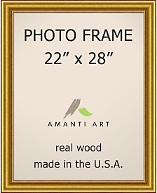"Amanti Art Townhouse Gold 22"" X 28"" Opening Wall Picture Photo Frame"