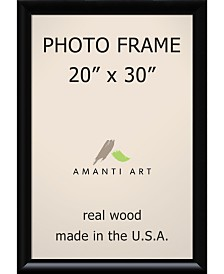 "Amanti Art Steinway Black 20"" X 30"" Opening Wall Picture Photo Frame"