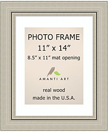 Amanti Art Romano Silver 11X14 Opening Wall Picture Photo Frame