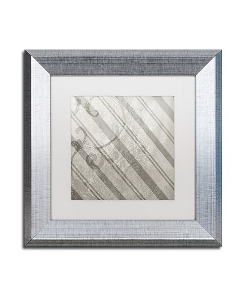 "Trademark Global Color Bakery 'Sweet Holiday V' Matted Framed Art, 11"" x 11"""
