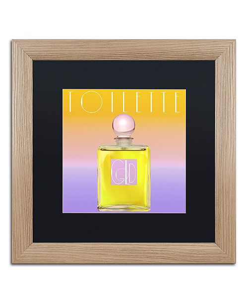 """Trademark Global Color Bakery 'Colored Scents Ii' Matted Framed Art, 16"""" x 16"""""""