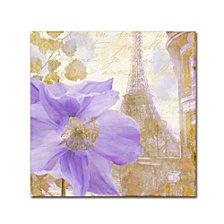Color Bakery 'Purple Paris Ii' Canvas Art