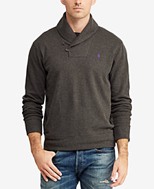 Polo Ralph Lauren Men's Estate-Rib Shawl Pullover