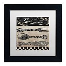 "Color Bakery 'Bistro Parisienne Ii' Matted Framed Art, 11"" x 11"""