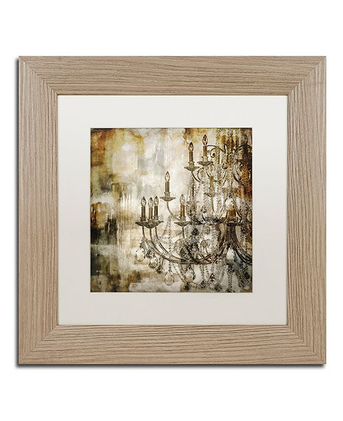 """Trademark Global Color Bakery 'Lumi'res Ii' Matted Framed Art, 11"""" x 11"""""""