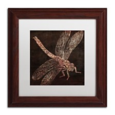 "Color Bakery 'Dragonfly' Matted Framed Art, 11"" x 11"""