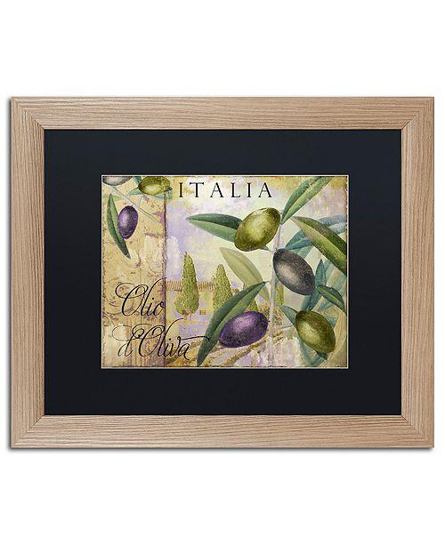"""Trademark Global Color Bakery 'Toscana I' Matted Framed Art, 16"""" x 20"""""""