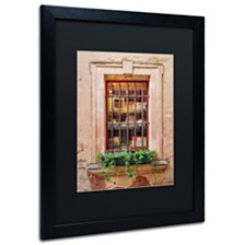 "Michael Blanchette Photography 'Window Shopping' Matted Framed Art, 16"" x 20"""