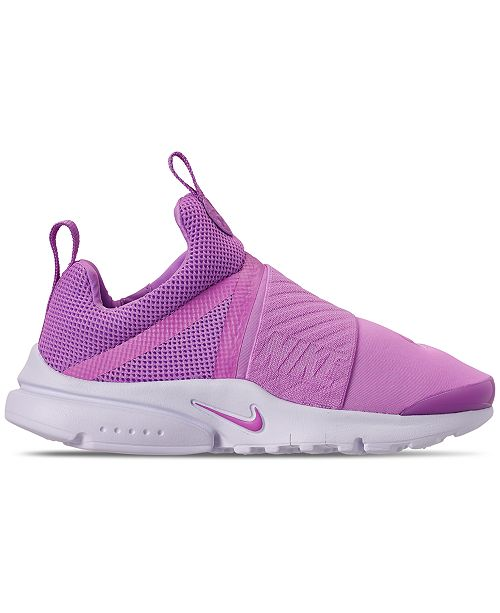 b4d97452b96e Nike Little Girls  Presto Extreme Running Sneakers from Finish Line ...