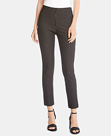 Karen Kane Striped Skinny Pants