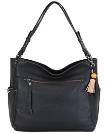 The Sak La Mesa 4-Poster Leather Tote