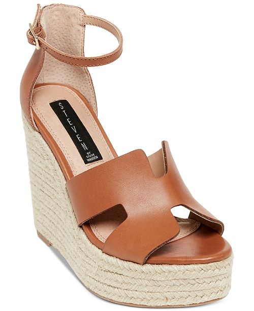a259bf4a9a9 STEVEN by Steve Madden Sirena Platform Wedges   Reviews - Sandals ...