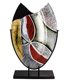 "12"" x 20"" Oval Vase"