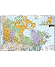 Canada Dry Erase Map Decal