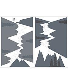 Mountain Range Wall Art Kit