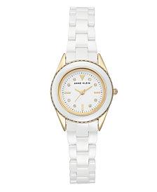 Anne Klein Glossy Dial with A Swarovski Crystal Watch
