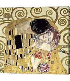 The Kiss  Data by Gustav Klimt