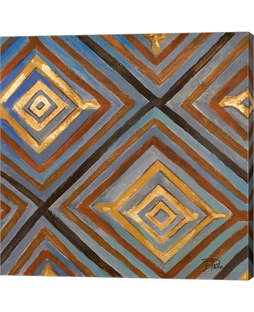 Metaverse Ikat and Patter by Patricia Pinto