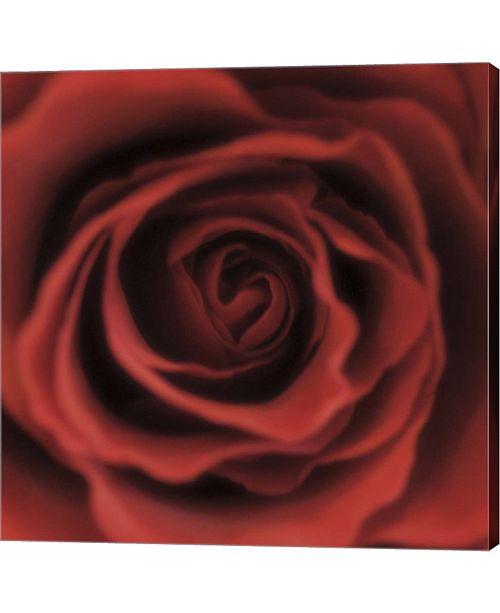 Metaverse Red Rose Square by Toula Mavridou-Messer