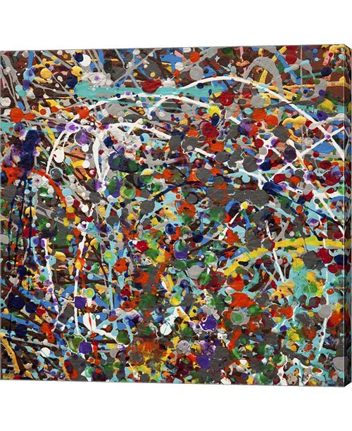 Metaverse Spin 2 - Canvas by Hilary Winfield