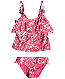 Roxy Little Girls Bali Dance Tankini Set