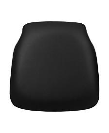 Offex Hard Vinyl Chiavari Chair Cushion for Wood Chiavari Chairs
