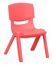 Offex Plastic Stackable School Chair