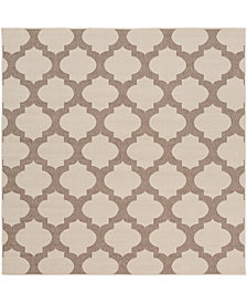 "Surya Alfresco ALF-9586 Cream 7'3"" Square Area Rug"