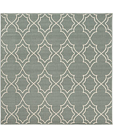 "Surya Alfresco ALF-9589 Sage 8'9"" Square Area Rug"