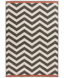 "Surya Alfresco ALF-9646 Black 2'3"" x 4'6"" Area Rug"