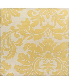 "Surya Athena ATH-5075 Wheat 9'9"" Square Area Rug"