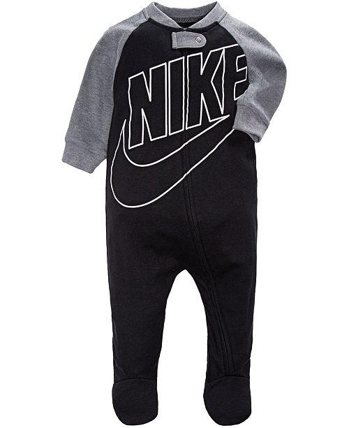 7a6826e27 Nike Baby Boys Futura Raglan Footed Coverall & Reviews - All Baby ...