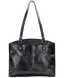 765db8741f Patricia Nash Metallic Embossed Map Poppy Shoulder Bag