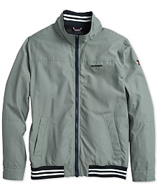 Tommy Hilfiger Adaptive Men's Regatta Jacket with Magnetic Zipper