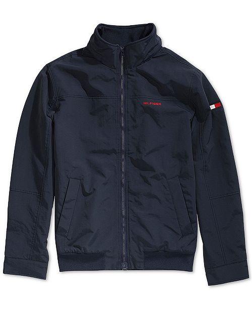Tommy Hilfiger Men's Regatta Jacket with Magnetic Zipper