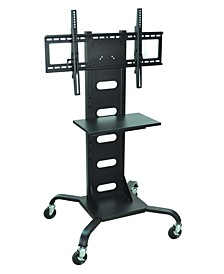 "OF-WPSMS51 - 51"" Mobile TV Stand Flat Panel with Mount - Black"